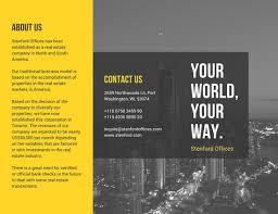 brochure templates for school project customize 912 brochure templates canva
