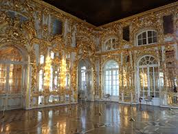 the ballroom the palace chapel tsarskoe selo near st