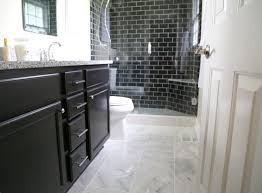 black subway tile reasons you should use black subway tile in your bathroom