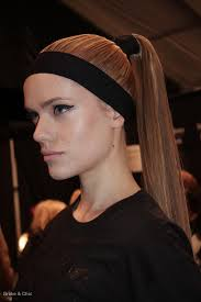 headband ponytail runway beauty trends 5 things to try this springbroke and chic