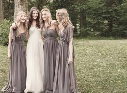 chic and stylish convertible multi wear bridesmaids dresses