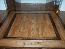 Hardwood Floor Borders Ideas Hardwood Floor Designs With Specialty Design Element Arthub