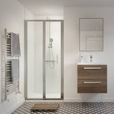 technique stratos 6 bi fold shower door ams plumbing
