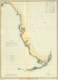 Florida Coast Map Florida Memory U S Coast Survey Map Of West Coast Of Florida 1852