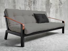 canape matelas canapé convertible en bois avec matelas futon et