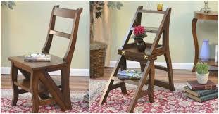 une chaise voici comment faire une chaise qui se transforme en escabeau très