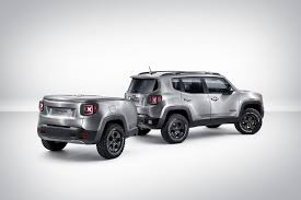jeep renegade camping jeep renegade gets a pimped out trailer and brushed steel paint