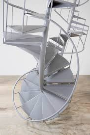 stair wonderful home exterior decoration using white metal