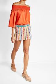 missoni mare printed shorts multicolored missoni mare cover