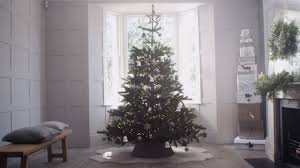 White Christmas Tree With Black Decorations The White Company How To Decorate Your Christmas Tree Youtube