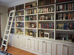 Rolling Ladder Bookcase Custom Furniture Perth Bookcases And Built In Pque Timber Craft