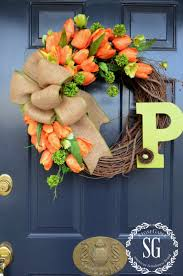 spring wreaths for front door fresh and fabulous spring wreath diy projects the cottage market