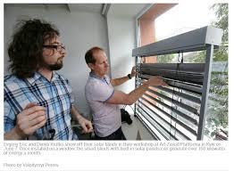 Solar Venetian Blinds Ukraine Reviews Inventors In Ukraine Created Power Generating