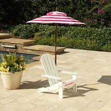 Lawn Chair With Umbrella Attached Adirondack Chair With Umbrella Assorted Colors Sam U0027s Club