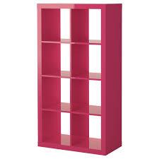 expedit shelving unit high gloss pink ikea high gloss white