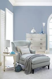 best 10 serene bedroom ideas on pinterest farrow ball coastal bernhardt nadine chaise in a pale blue woven criteria drawer chest with stainless steel