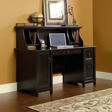 Desk With Hutch Black Office Furniture Mission Furniture Craftsman Furniture