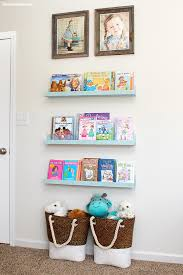 Kid Bookshelf Easy Diy Bookshelf Ledges How To Nest For Less