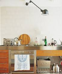 wall mounted kitchen lights interiors how s this for a bright idea daily mail online