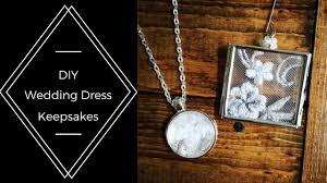 diy wedding dress lace necklace and ornament