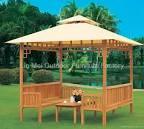 wooden gazebo - LM-C - LM (China Manufacturer) - Leisure Furniture ...