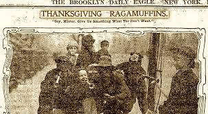 the thanksgiving ragamuffins of new york ephemeral new york