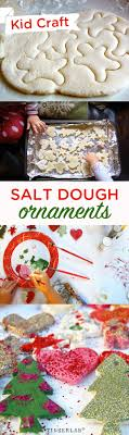 salt dough ornaments and decorations tinkerlab