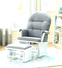 nursery rocking chair with ottoman white nursery rocker lovely denim ottoman glider ottoman rocking