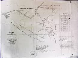 San Simeon Map San Luis Obispo County Land Grants