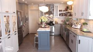 kitchen remodel ideas oak cabinets nickel chrome swing panel