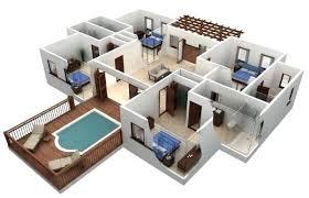 3 bedroom house plans 3d house plans 3 bedroom house floor plan draw 3d house plans