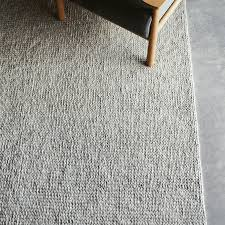 Rug Resizing And Co Designer Sierra Weave Wool Rug Light Grey Pumice