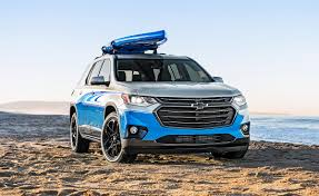 the 2018 chevrolet traverse sup concept is ready to make waves at