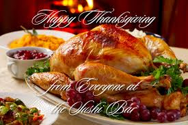 happy thanksgiving jan s sushi bar