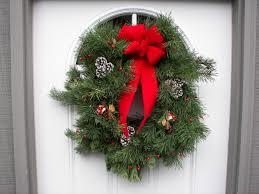 christmas wreath door decoration ornament peppermint elf xmas idolza