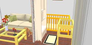 chambre bébé pratique une chambre de bébé dans un salon femme actuelle