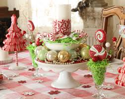 interior design impressive holiday table decorating with many