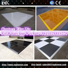 uk 1m 1m checkered used floor portable floor