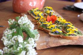 cuisine sauvage atelier de cuisine sauvage à la verte ecolodge la verte