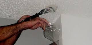 Popcorn Ceilings Asbestos by How To Remove Textured U201cpopcorn U201d Ceilings Today U0027s Homeowner