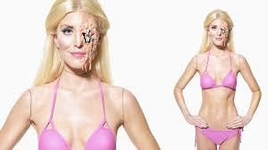 halloween barbie melting barbie halloween makeup tutorial by ellimacs