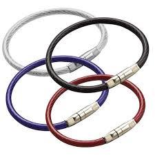 color key rings images Crimp close locking aircraft cable key rings jpg