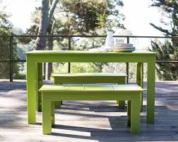 modern picnic bench for the outdoor lollygagger loll designs