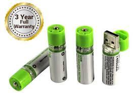 easy power emergency light easypower usb rechargeable batteries 4 pack nimh aa usb battery