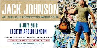 jack johnson all the light above it too eventim apollo on twitter london we re delighted to announce