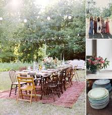 exterior isabel sacher boho backyard wedding switzerland