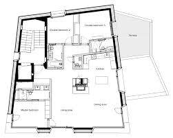 Double Master Bedroom Floor Plans by Catered Ski Chalet St Moritz Apartment Giuliani Leo Trippi