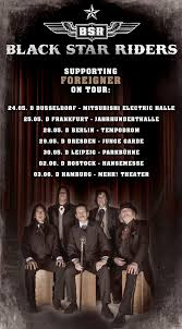 Backyard Babies Discography Black Star Riders To Support Foreigner Nuclear Blast