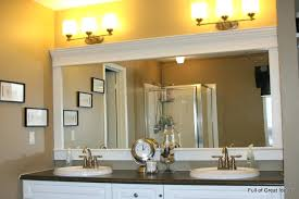 Framing Existing Bathroom Mirrors Bathroom Frames Custom Bathroom Mirror Frames Marble