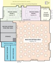 Floor Plan For Wedding Reception by Ohio Culinary Services Nelson Commons